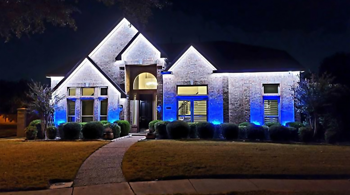 Colorbeam_Home Exterior_Hardscape & Landscape Lighting 03