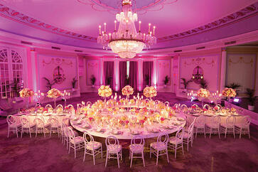ritz carlton oval room pink